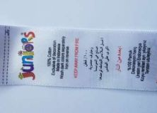 label satin printing murah