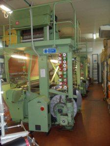 mesin cetak label woven